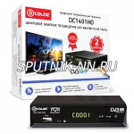 D-Color DC1401HD ресивер цифрового эфирного ТВ (DVB-T2)