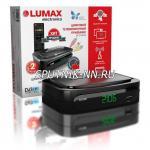 LUMAX DV2106HD ресивер цифрового эфирного ТВ (DVB-T2)