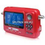 SAT FINDER SF-550,дисплей,  спектр, MER,BER, S/N, уровень, транспондер, USB